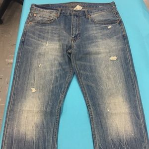 NWT American Eagle 34/34 distressed jeans